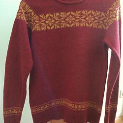 Motif Sweater