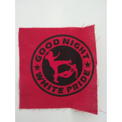 Patch Good Night White Pride