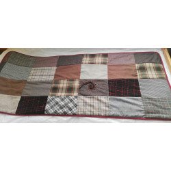 Manta para el sofá (patchwork)