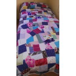 Colcha para cama (patchwork)