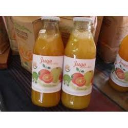 Jugo orgánico de mandarina...