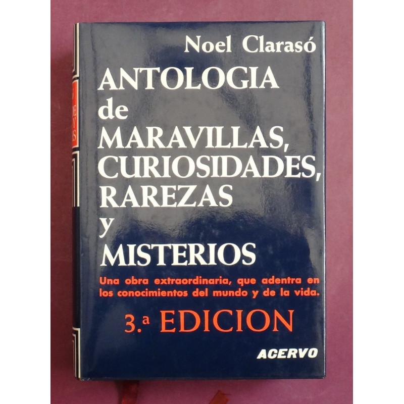 Antología de maravillas, curiosidades, rarezas y misterios